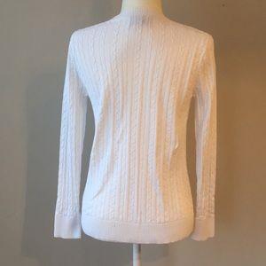 f4dc4bd80e425 Sonoma Sweaters -  Sonoma  Cozy White V-Neck Sweater warm long